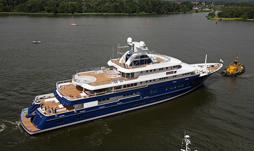 Photo of the New 75m Motor Yacht NORTHERN STAR