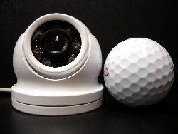 Enhancing yacht security : Golf Ball Size Security Cameras by Paradox Marine