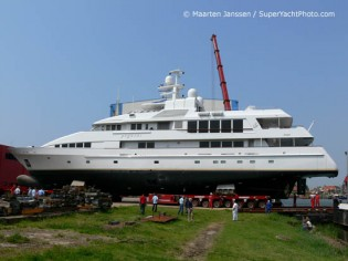 View large version of image: Feadship Yacht PEGASUS Re-launched