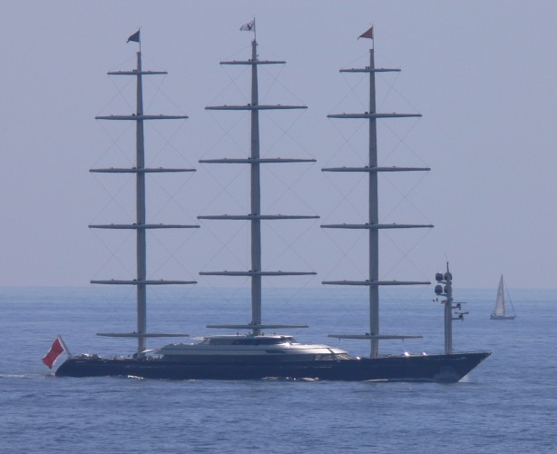 View large version of image: Sailing Yacht MALTESTE FALCON - Luxury & Innovation.