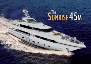 View large version of image: Yacht AFRICA project launched in July by Sunrise Yachts.