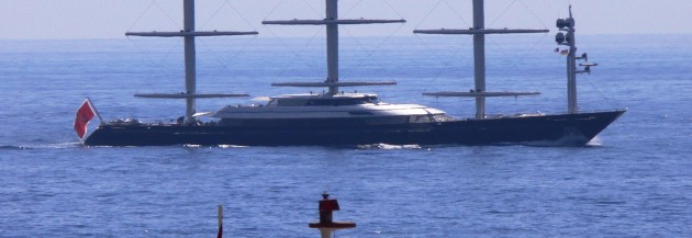 View large version of image: Superyacht MALTESE FALCON