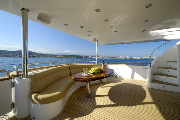 View large version of image: Motor Yacht ANNABEL II Aft Deck