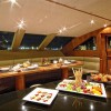 Motor Yacht ANNABEL II Breakfast Area