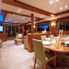 Motor Yacht ANNABEL II  Formal Dining