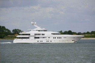 View large version of image: The 60 m Luxury Motor Yacht Arkley by Lurssen