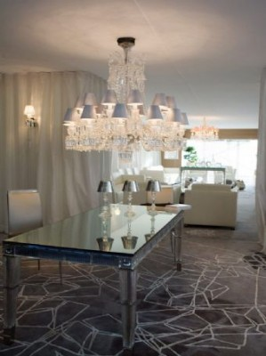 View large version of image: AT Monaco Yacht Show : Baccarat Crystal Lounge for Yacht Interiors