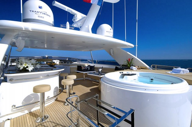 View large version of image: Motor Yacht ANNABEL II  Sundeck