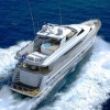Motor Yacht ANNABEL II  Aerial Shot