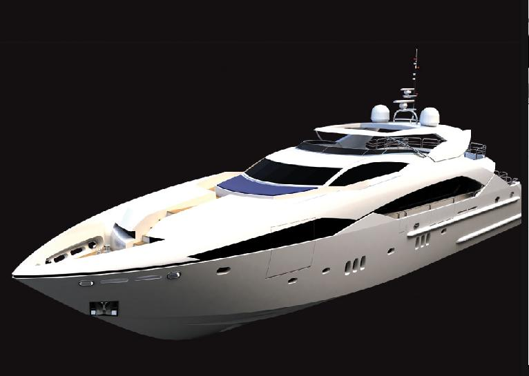 View large version of image: The New Predator 130 by Sunseeker