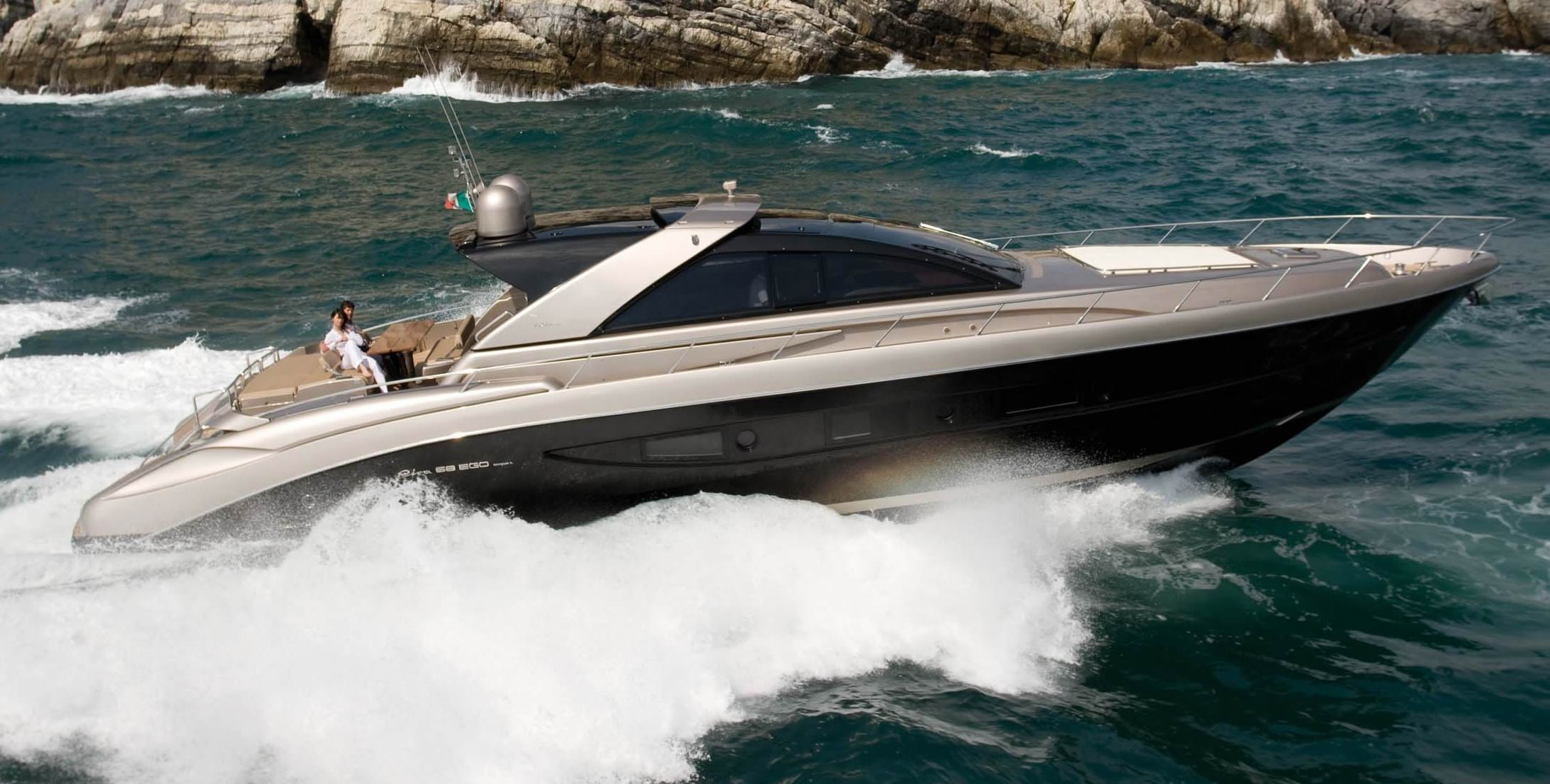 View large version of image: The Riva 68 Ego Open Style Superyacht Design