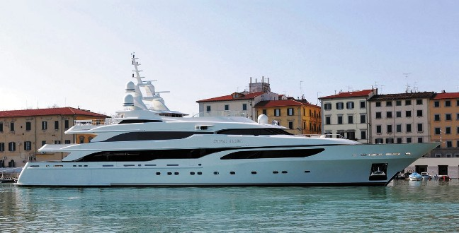 Yacht Type: Displacement Motor Yachts. Engine: 2 x CAT 16cyl 3372kW 3615B