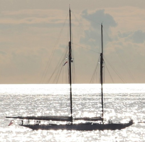 View large version of image: Classic Sailing Yacht Sunrise