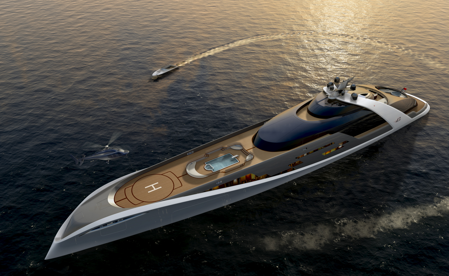 View Large Version Of Image An Automative Adaption Superyacht 7Cs