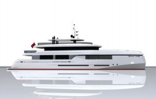 View large version of image: Details on Motoryacht Green Voyager by Kingship Marine