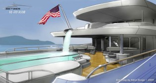 View large version of image: Megayacht  Vision Line (VL)-70 : The Dawn of Futuristic Designs