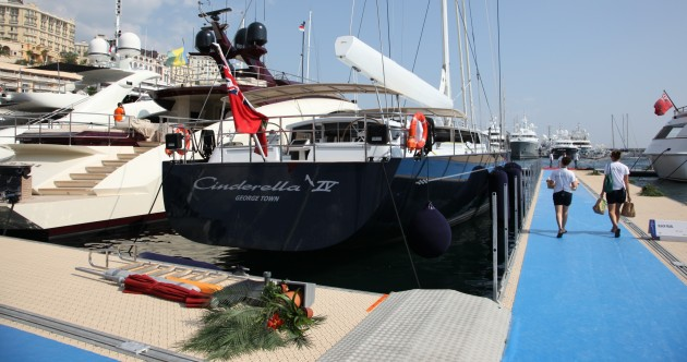 View large version of image: Sailing Yacht CINDERELLA IV Picture