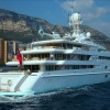 Motor Yacht PRINCESS MARIANA backing into Monaco