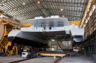 View large version of image: Azzura Marine launches Necker Belle