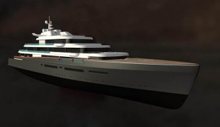 View large version of image: At Monaco Yacht Show: New Projects by Oceanco