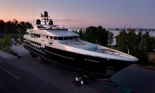 View large version of image: 48.7m Odessa Almost Complete, Announces Christensen Shipyard
