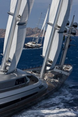 View large version of image: MALTESE FALCON WINS Perini Navi Cup 2009