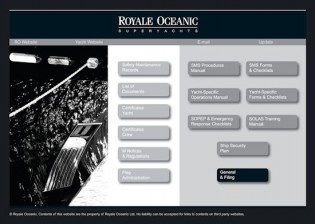 View large version of image: Royale Oceanic Launches New Information Management System - Royale Oceanic D-ISM system