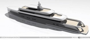 View large version of image: Van Geest's New Design For Icon Yacht