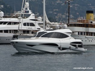 View large version of image: At Monaco Yacht Show : Motor Yacht Metaphor 68 by Alen Yachts