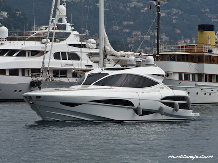 View large version of image: At Monaco Yacht Show : Motor Yacht Metaphor 68 ...