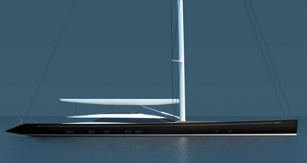 View large version of image: Alloy Yachts and Dubois Yacht Design Presents Sailing Yacht Kokomo