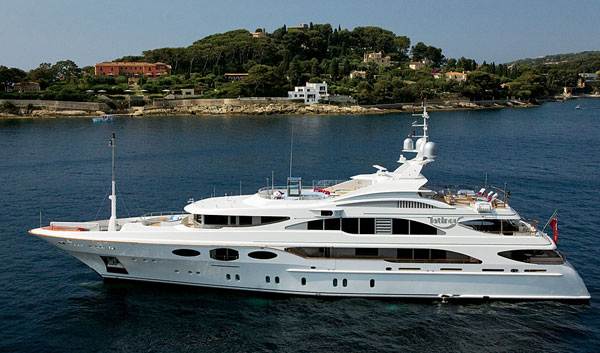Benetti yachts have a history of building ships longer ...