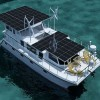 DSe Hybrid 12 - America's First Hybrid Yacht Using Solar - Diesel - Electric Drive