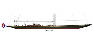 View large version of image: Update on the New Sailing Yacht Rainbow