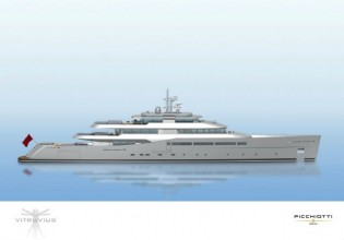 View large version of image: Perini Navi & Phillip Briand Vitruvius Explorer 73.3m Yacht Finds Her Owner