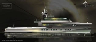 View large version of image: Bray Yacht Design and Research Presents a New 42 m Design Yacht