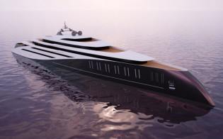 View large version of image: Emocean Yacht Design's New Project 1011 for Devonport Yachts