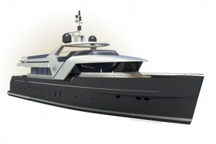 View large version of image: New 26 m Eco-friendly Yacht by Humphreys Yacht Design  and Humphreys Yacht Design