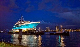 View large version of image: Oceanco launches new 85.47m Y705 Yacht SUNRAYS