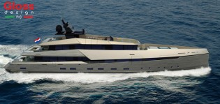 View large version of image: New G180 Superyacht by Ghost Yachts