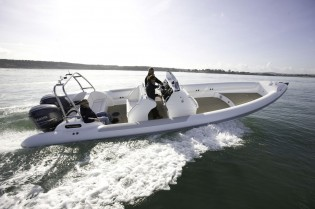 View large version of image: The SCORPION 10m Open Sting Yacht Tender RIB