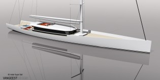 View large version of image: 60 m Van Geest Design (VGD) Sailing Yacht Design
