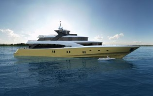 View large version of image: Couach Yachts Unveils its First Couach 5000 Fly Yacht