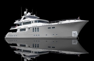 View large version of image: Motor yacht Aurora the Nordhavn 120 Hull One Sold