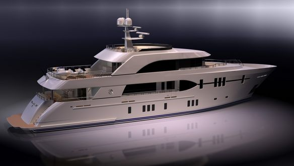 View large version of image: New Motor Yacht Ocean Alexander 120' to be ...