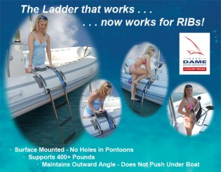 View large version of image: Armstrong Nautical Products Presents the 2009 DAME Award Winner – RIB Ladder.