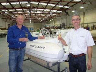 View large version of image: Williams Performance Tenders make 1000th 325 Turbojet
