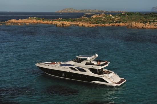 Azimut yachts' new superyacht, Azimut 100 Leonardo has a class of her own.