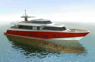 View large version of image: Blue Reef 87 Motor Yacht