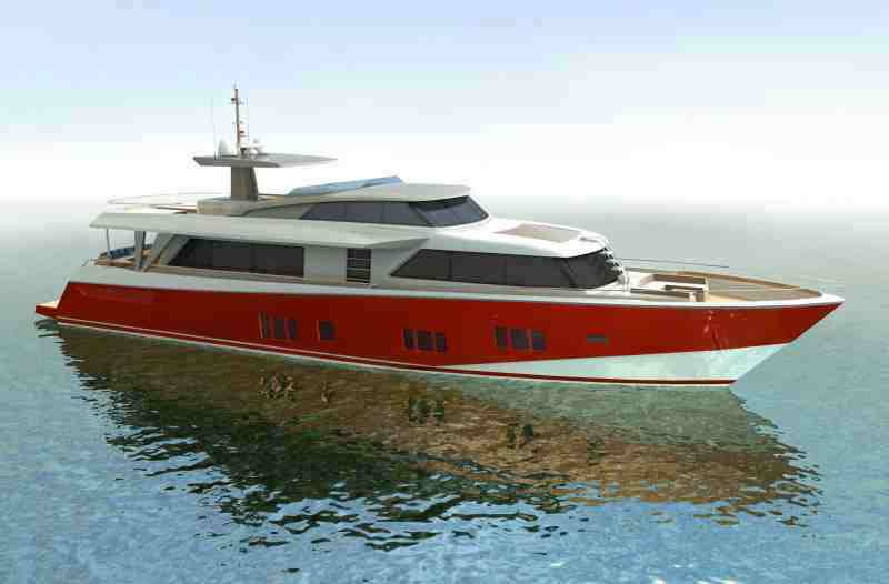 Blue Reef Yachts introduces the first motor yacht of the range – the Blue ...